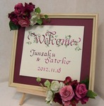 2012.10.24 WB装花.JPG